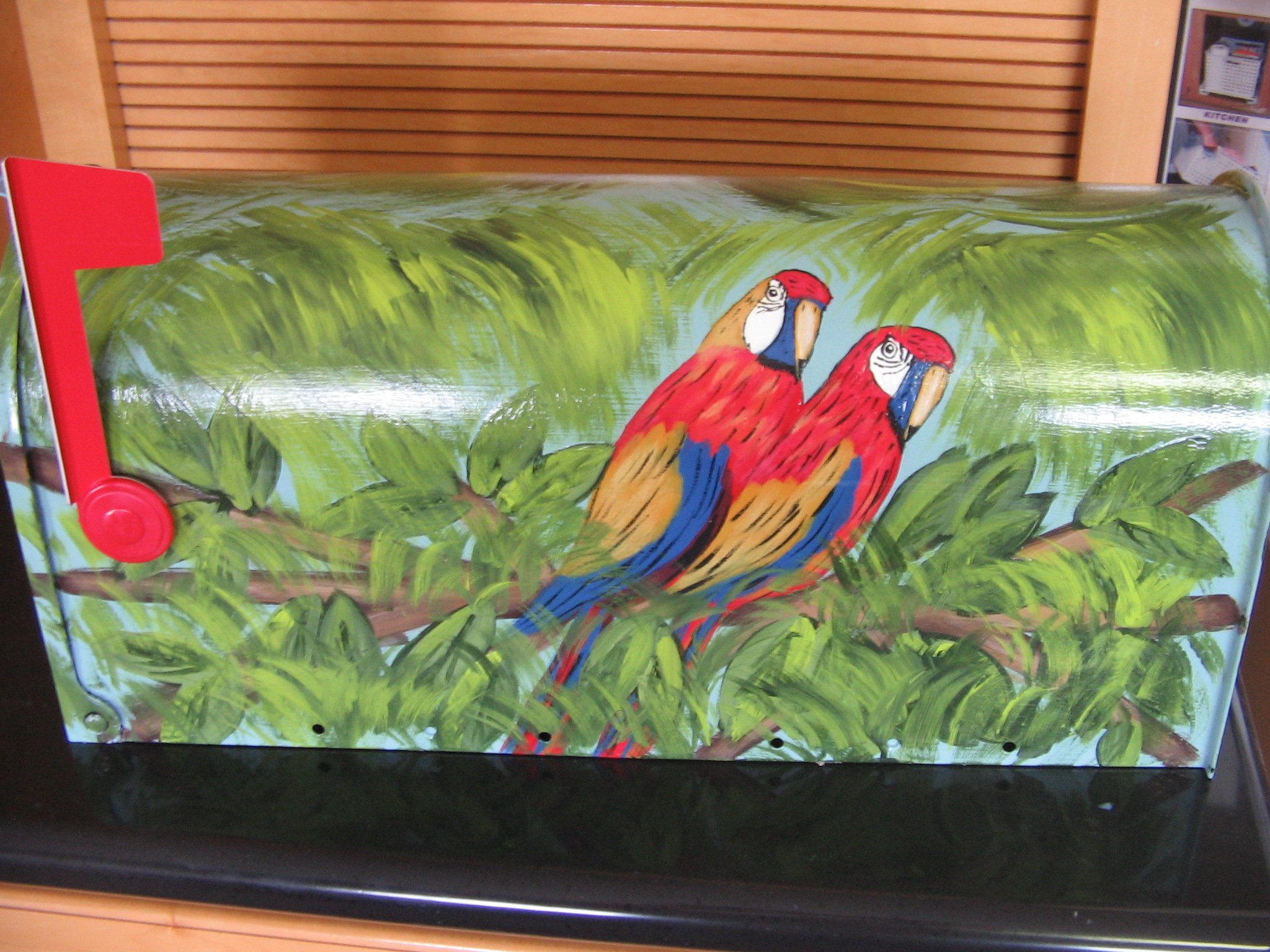 painted mailbox designs. The Design Is Hand Painted Mailbox Designs A